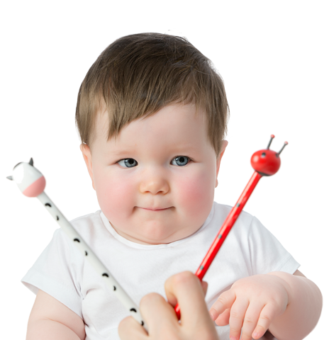 Examen visual en bebés - AVERA CENTRO DE OPTOMETRÍA Y TERAPIA VISUAL EN MÁLAGA