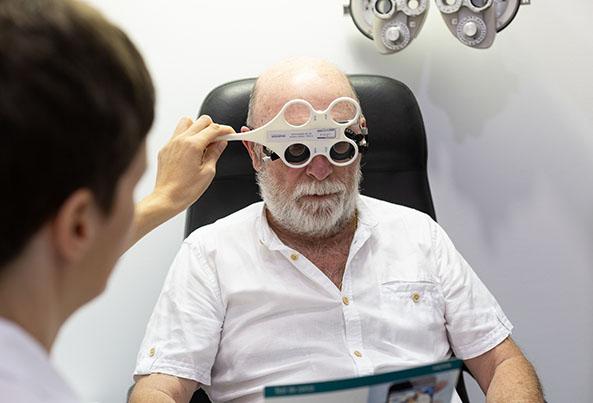 lentes de contacto presbicia